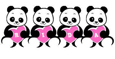 Rida love-panda logo