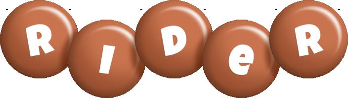 Rider candy-brown logo
