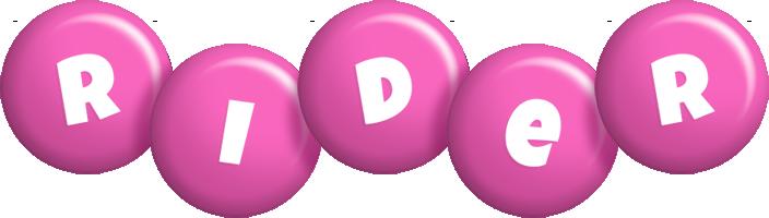 Rider candy-pink logo
