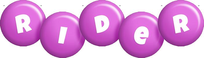 Rider candy-purple logo