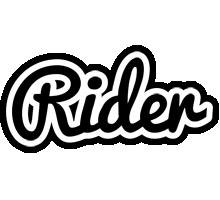 Rider chess logo