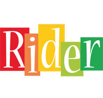 Rider colors logo