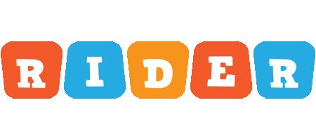 Rider comics logo