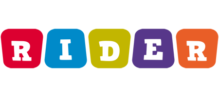Rider daycare logo