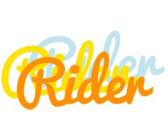 Rider energy logo