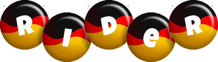 Rider german logo