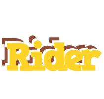 Rider hotcup logo