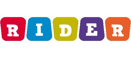 Rider kiddo logo