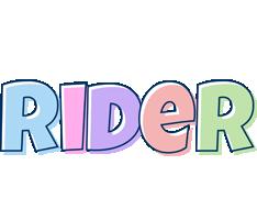Rider pastel logo
