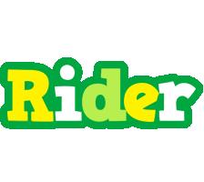 Rider soccer logo