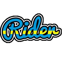 Rider sweden logo