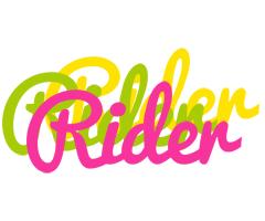 Rider sweets logo
