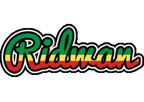 Ridwan african logo