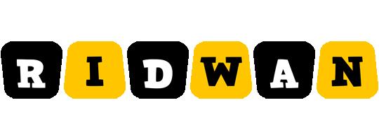 Ridwan boots logo