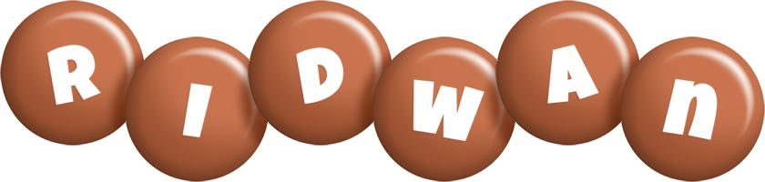 Ridwan candy-brown logo