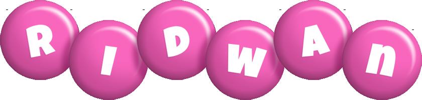 Ridwan candy-pink logo