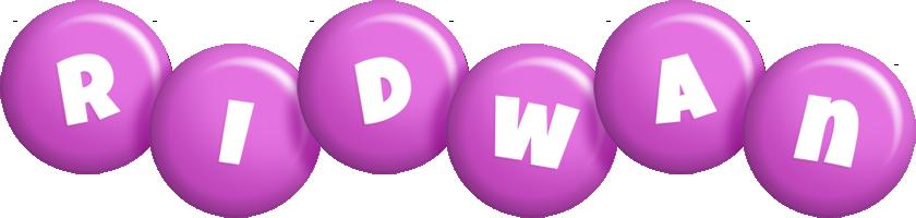 Ridwan candy-purple logo