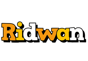 Ridwan cartoon logo