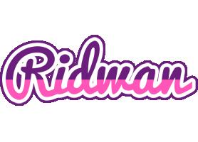 Ridwan cheerful logo
