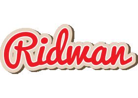 Ridwan chocolate logo
