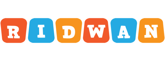 Ridwan comics logo