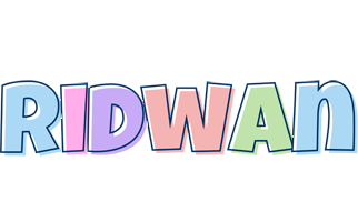 Ridwan pastel logo
