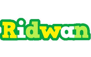 Ridwan soccer logo