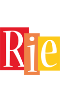 Rie colors logo