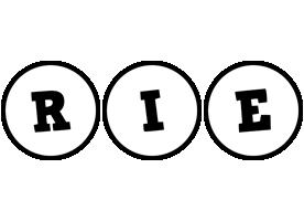 Rie handy logo