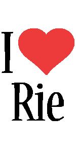 Rie i-love logo