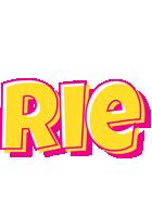 Rie kaboom logo