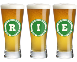 Rie lager logo