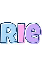 Rie pastel logo