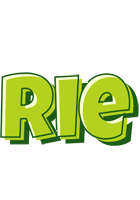Rie summer logo