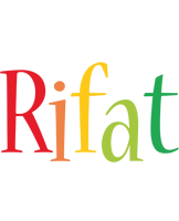 Rifat birthday logo