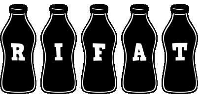 Rifat bottle logo