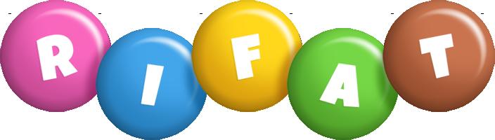Rifat candy logo