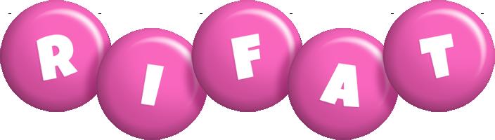 Rifat candy-pink logo
