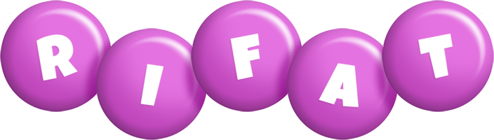 Rifat candy-purple logo