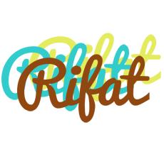 Rifat cupcake logo