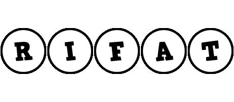 Rifat handy logo