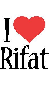 Rifat i-love logo