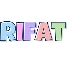 Rifat pastel logo