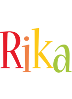 Rika birthday logo