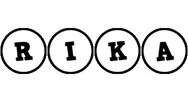 Rika handy logo