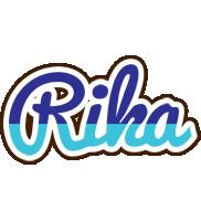 Rika raining logo