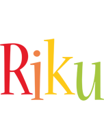 Riku birthday logo