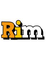 Rim cartoon logo
