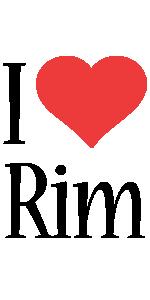 Rim i-love logo