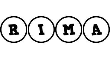 Rima handy logo
